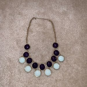 Jewelry - Purple and sea foam green necklace